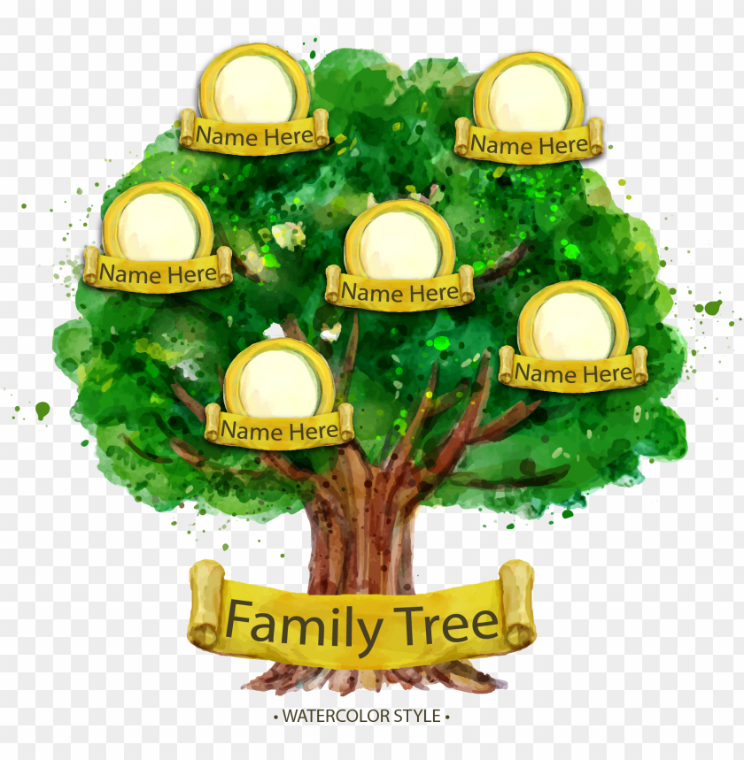 free PNG family tree genealogy illustration - sample family tree desi PNG image with transparent background PNG images transparent