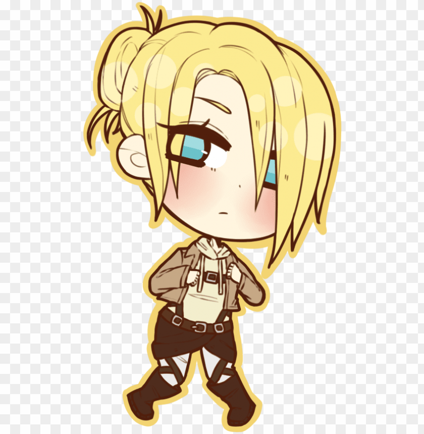 Fanart Drawing Attack On Titan Attack On Titan Chibi Annie Png Image With Transparent Background Toppng
