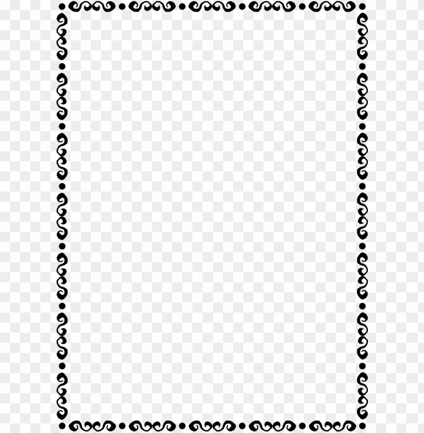 free PNG fancy border png - dot and dash border PNG image with transparent background PNG images transparent