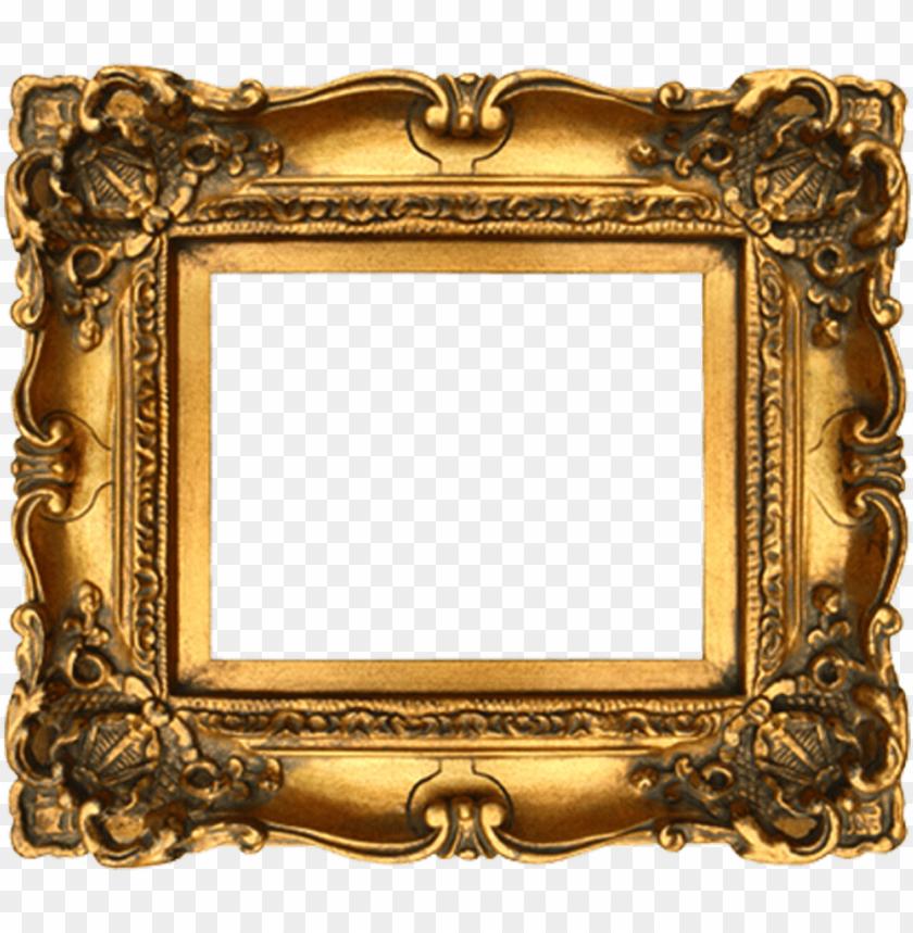 free PNG fancy frame png image transparent - gilded gold frame PNG image with transparent background PNG images transparent