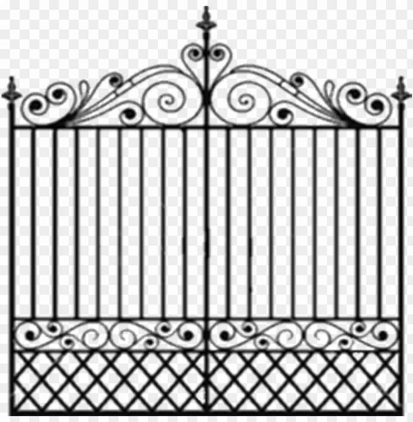 free PNG fancy gate png photos - gate PNG image with transparent background PNG images transparent