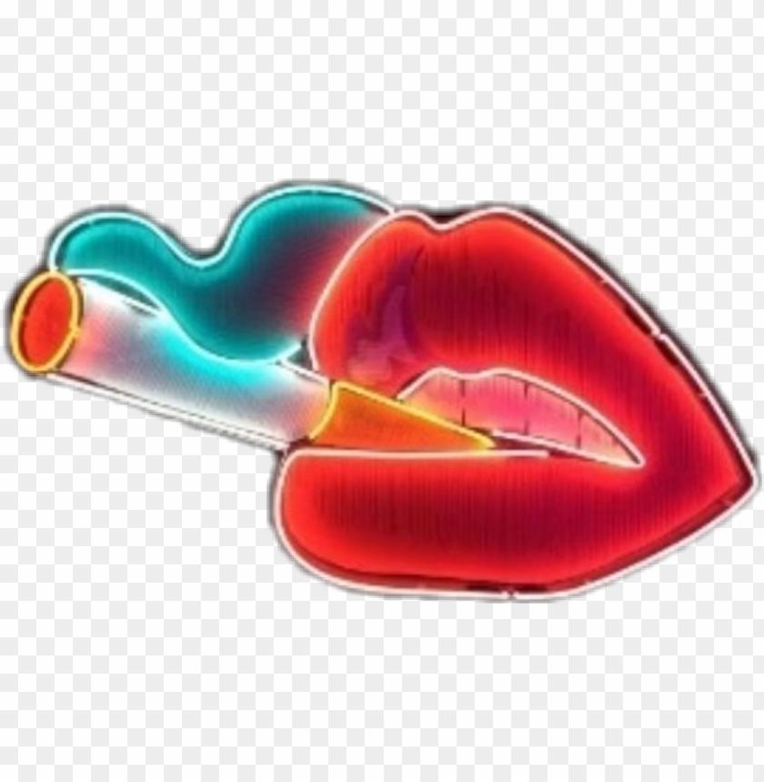 free PNG fancy smoking - neon sign transparent background PNG image with transparent background PNG images transparent