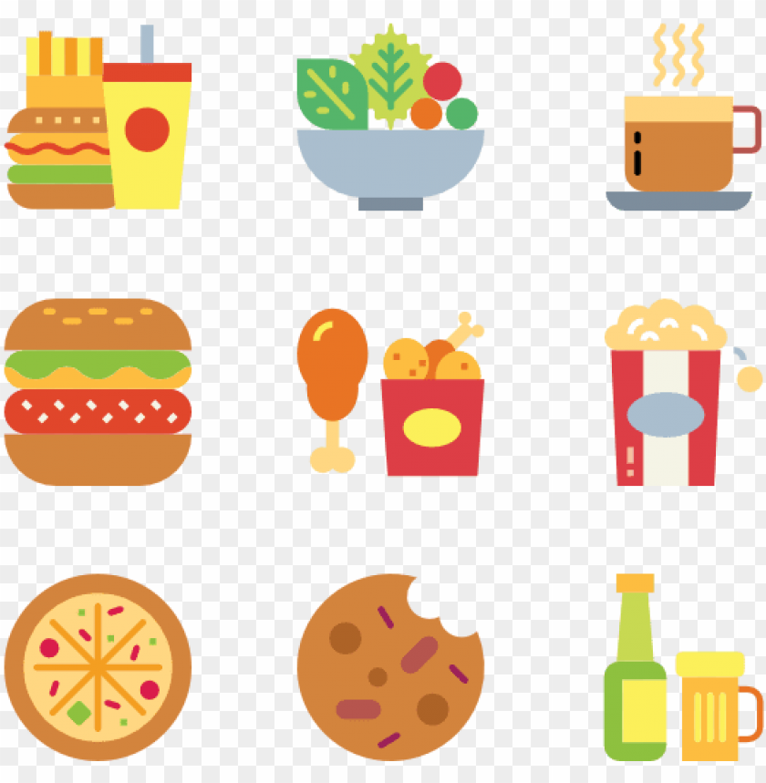 free PNG fast food png - fast food icons PNG image with transparent background PNG images transparent