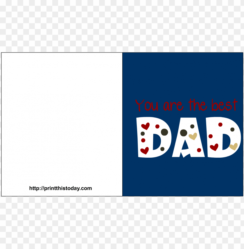 free PNG father day cards print onwe bioinnovate fathers card - printable fathers day card from do PNG image with transparent background PNG images transparent