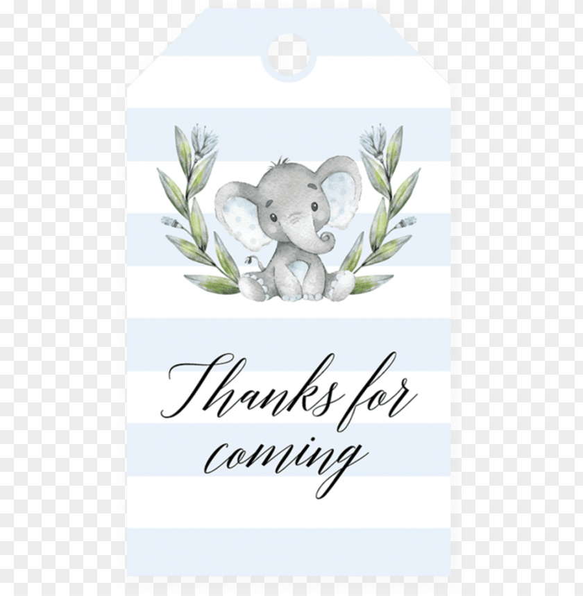 Favor Tag Printable For Boy Baby Shower By Littlesizzle Template Girl Baby Shower Invitations Elephants Png Image With Transparent Background Toppng