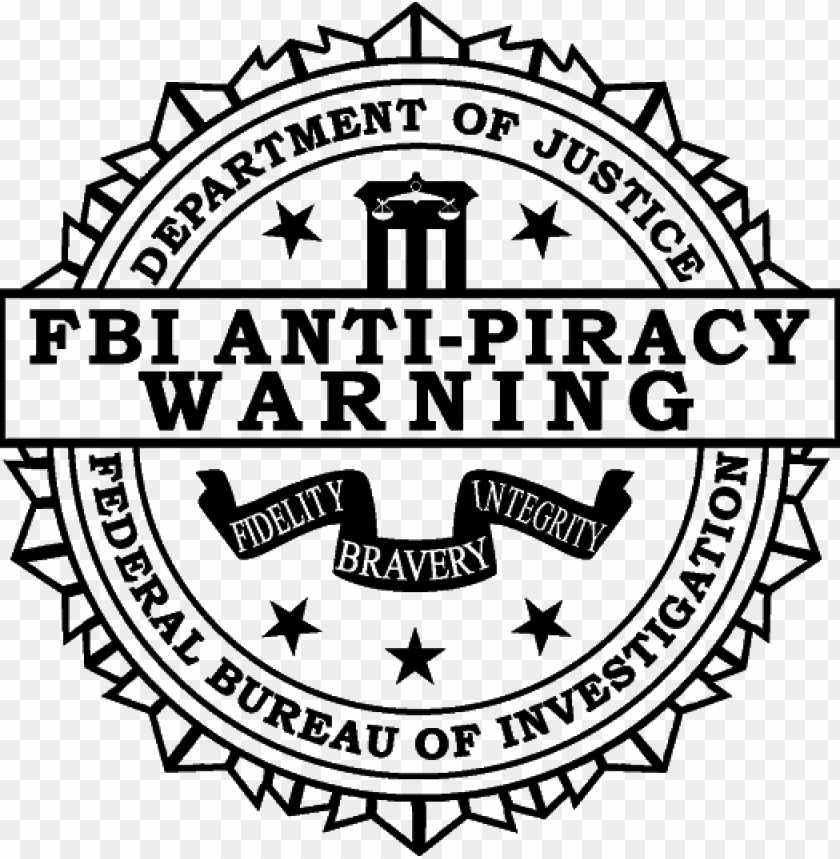free PNG fbi anti piracy warning logo png clip black and white - frank zappa - joe's garage l PNG image with transparent background PNG images transparent