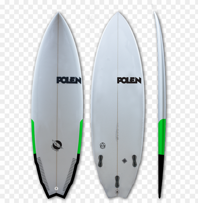 free PNG feather surfboard model picture - polen surfboards PNG image with transparent background PNG images transparent