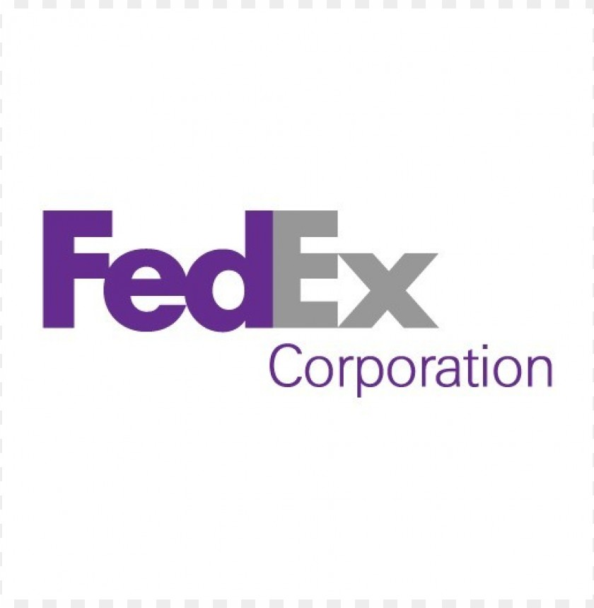 fedex corporation logo vector download@toppng.com