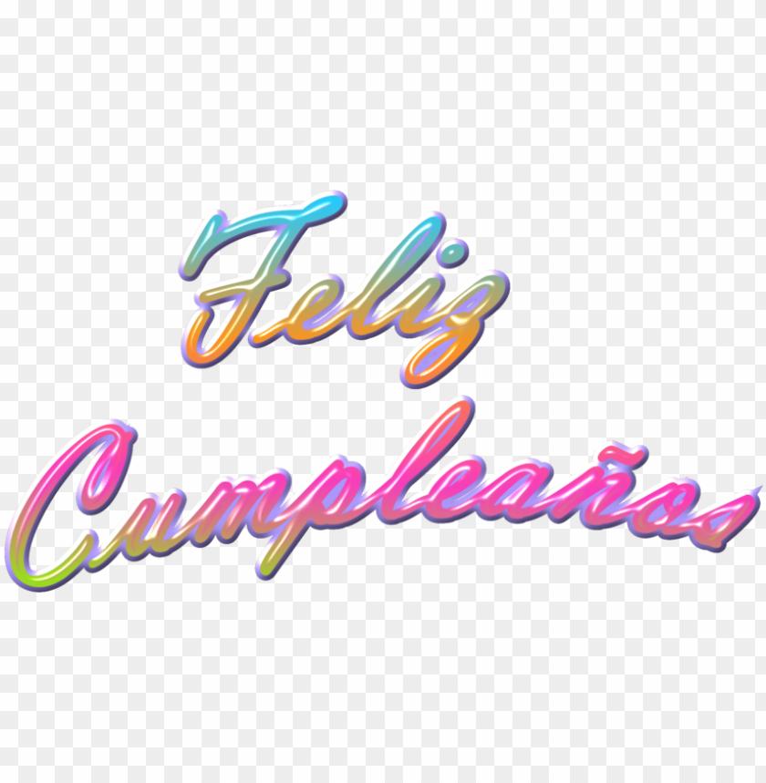 free PNG feliz cumpleaños texto png - feliz cumpleaños imagen PNG image with transparent background PNG images transparent