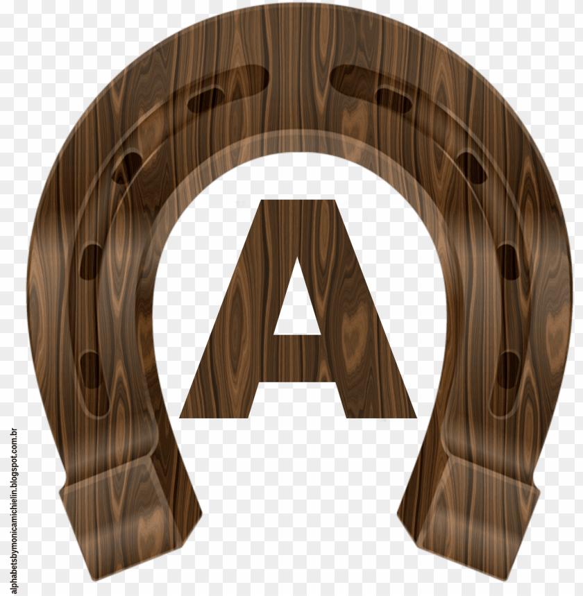 free PNG ferradura de cavalo em textura de madeira alfabeto - tag ferradura PNG image with transparent background PNG images transparent