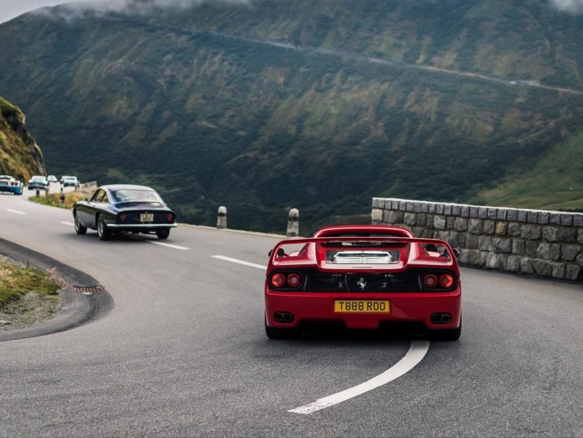 free PNG ferrari 575m maranello, ferrari, sports car, motion, blur background PNG images transparent
