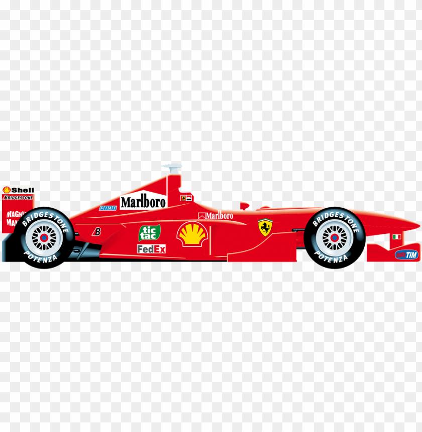 free PNG ferrari clipart race car - auto dibujo ferrari f1 PNG image with transparent background PNG images transparent