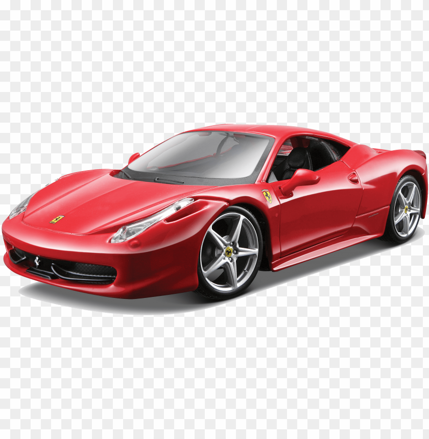 free PNG ferrari download png - maisto 124 scale red assembly line ferrari 458 italia PNG image with transparent background PNG images transparent