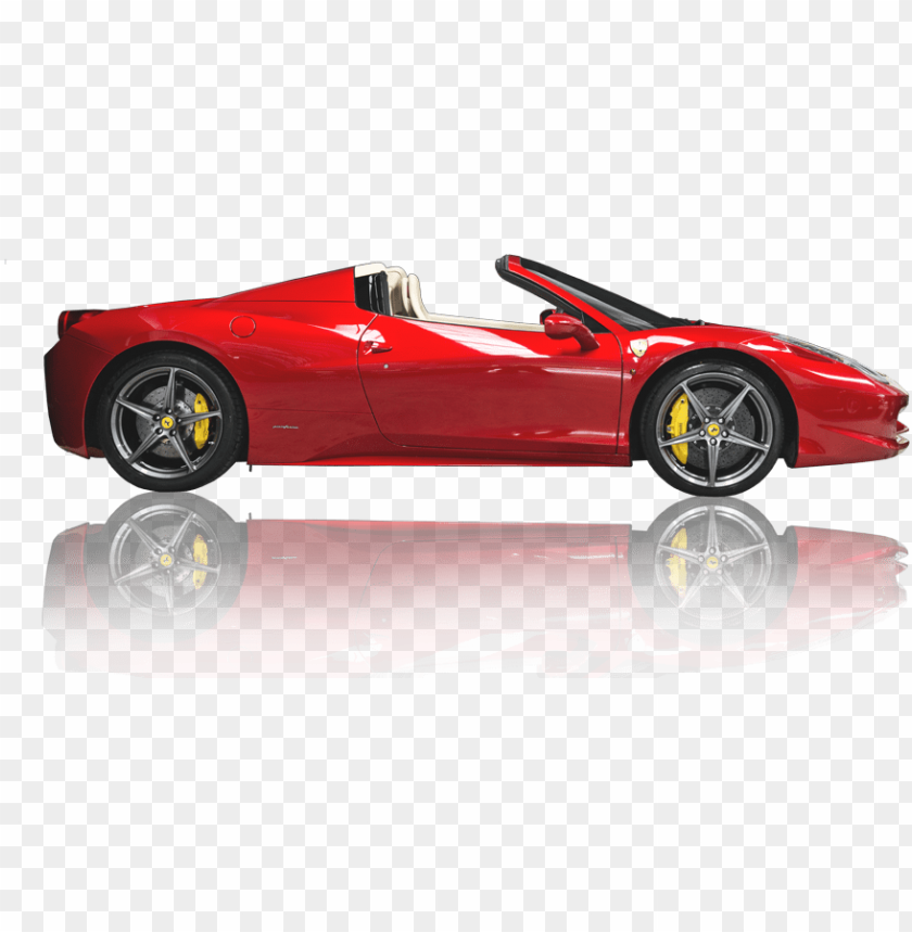 free PNG ferrari side view png - car side view PNG image with transparent background PNG images transparent