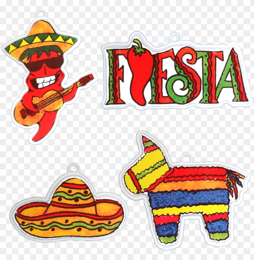 free PNG fiesta party accessory pack 4 designs per pkg PNG image with transparent background PNG images transparent