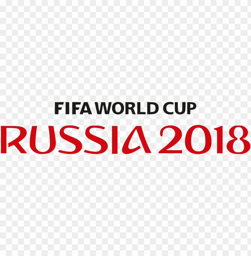 free PNG fifa world cup russia 2018 large text logo png images background PNG images transparent