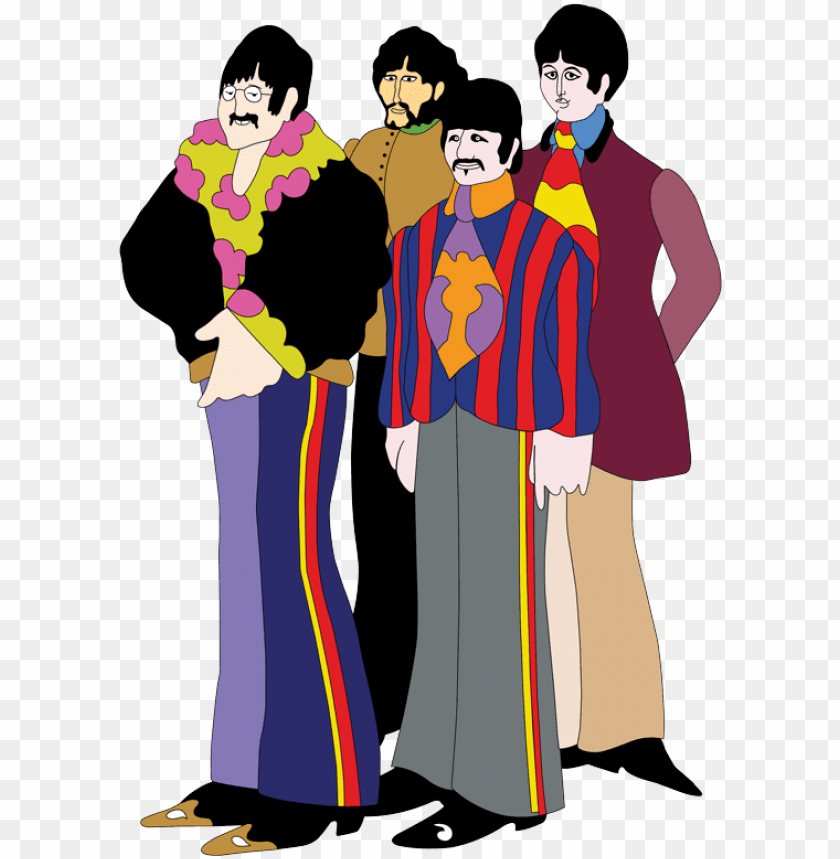 Figs Beatles Yellow Submarine Png Image With Transparent