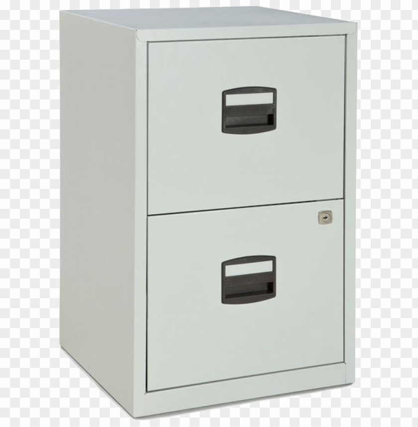 free PNG file cabinet png clipart - bisley 2-drawer steel home or office filing cabinet PNG image with transparent background PNG images transparent
