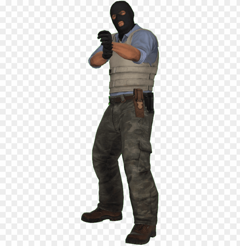 free PNG file history - csgo terrorist character PNG image with transparent background PNG images transparent