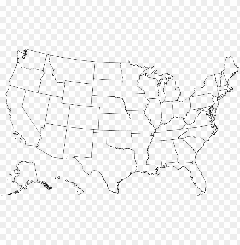 file reference - blank map of united states of america PNG ...