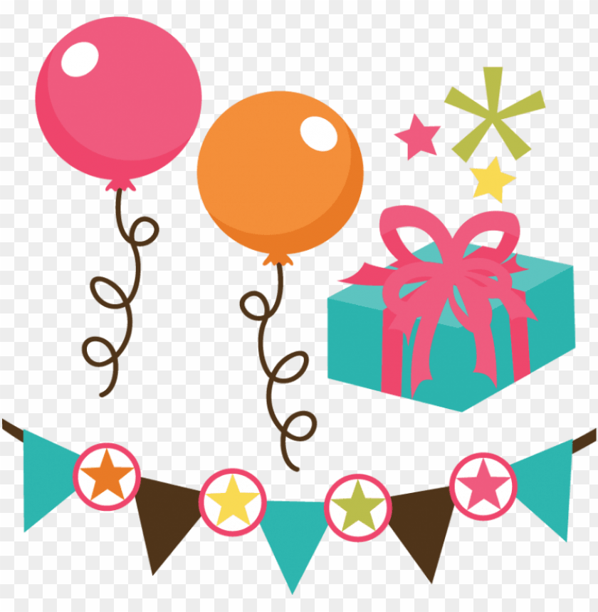 free PNG file set svg files for scrapbooking - happy birthday file PNG image with transparent background PNG images transparent