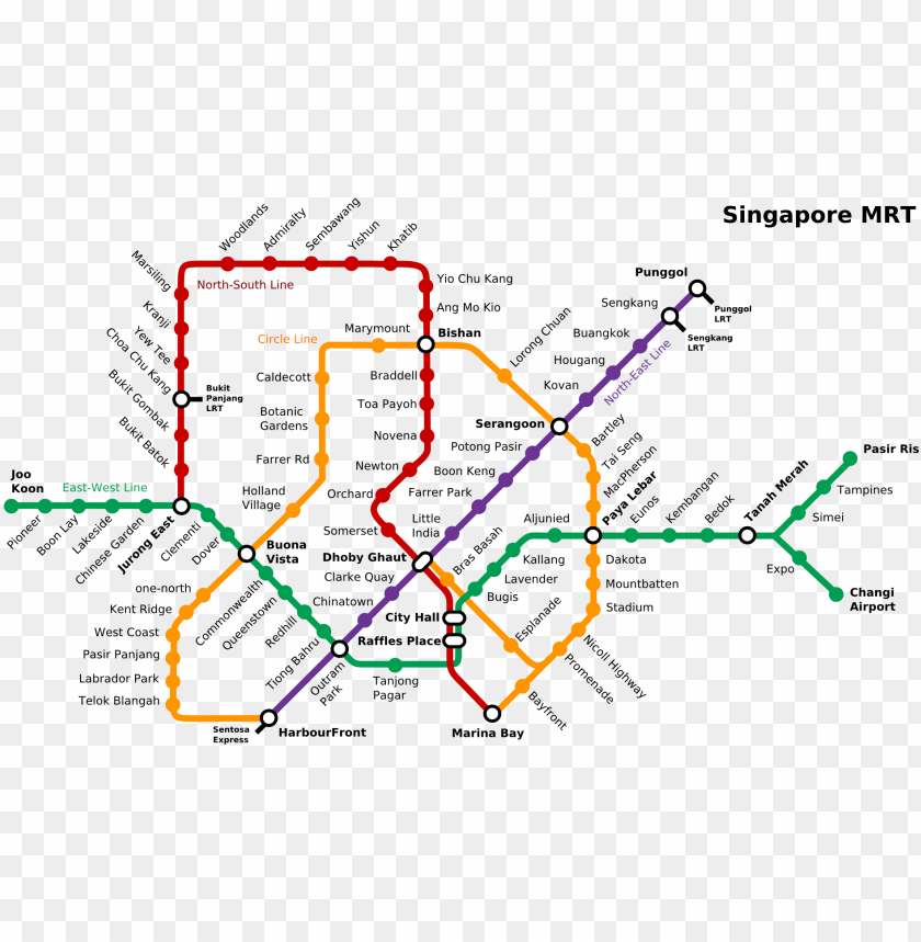 free PNG file - singapore-mrt - east west line map singapore PNG image with transparent background PNG images transparent