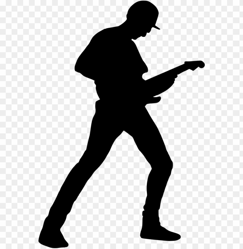 free PNG file size - electric guitar player silhouette PNG image with transparent background PNG images transparent