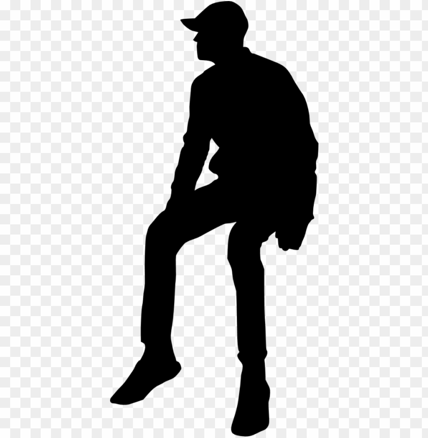 free PNG file size - human sitting silhouette PNG image with transparent background PNG images transparent