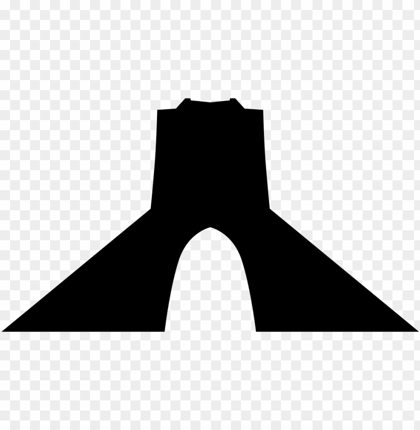 File Svg Azadi Tower Vector Png Image With Transparent