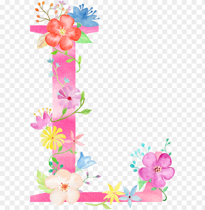 free PNG find this pin and more on watercolour lettering by - alphabet letters floral designs PNG image with transparent background PNG images transparent