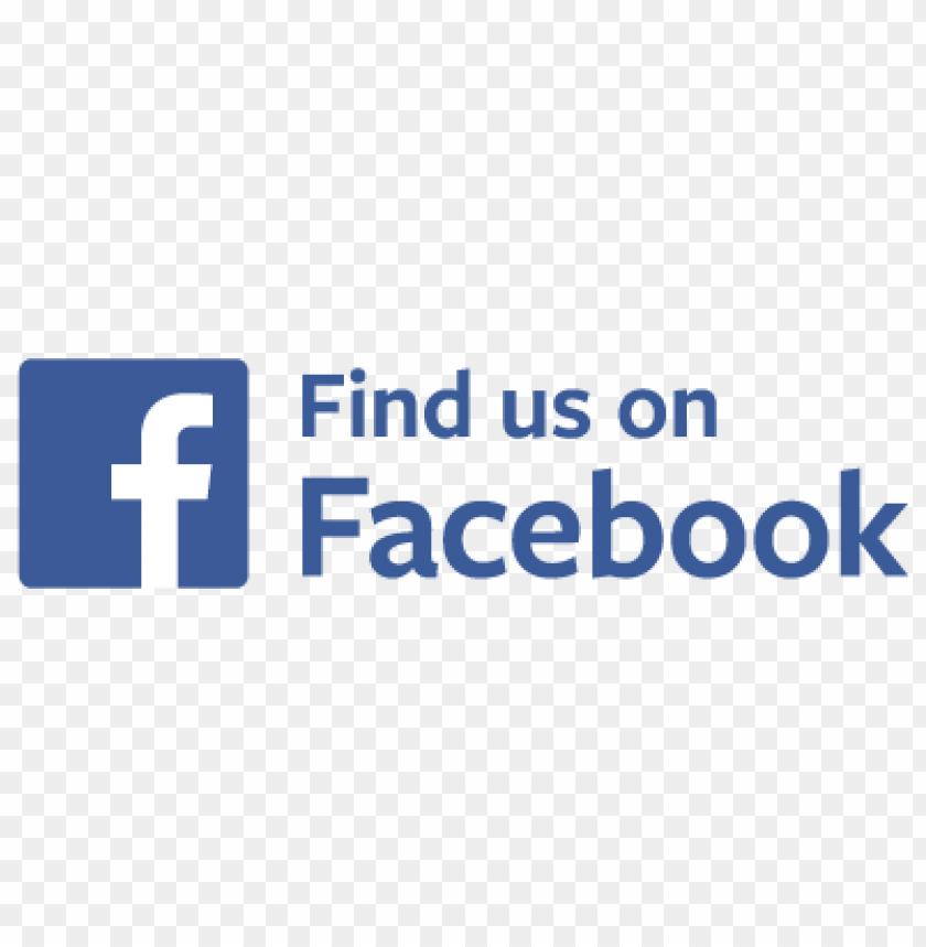 free PNG find us on facebook badge vector PNG images transparent