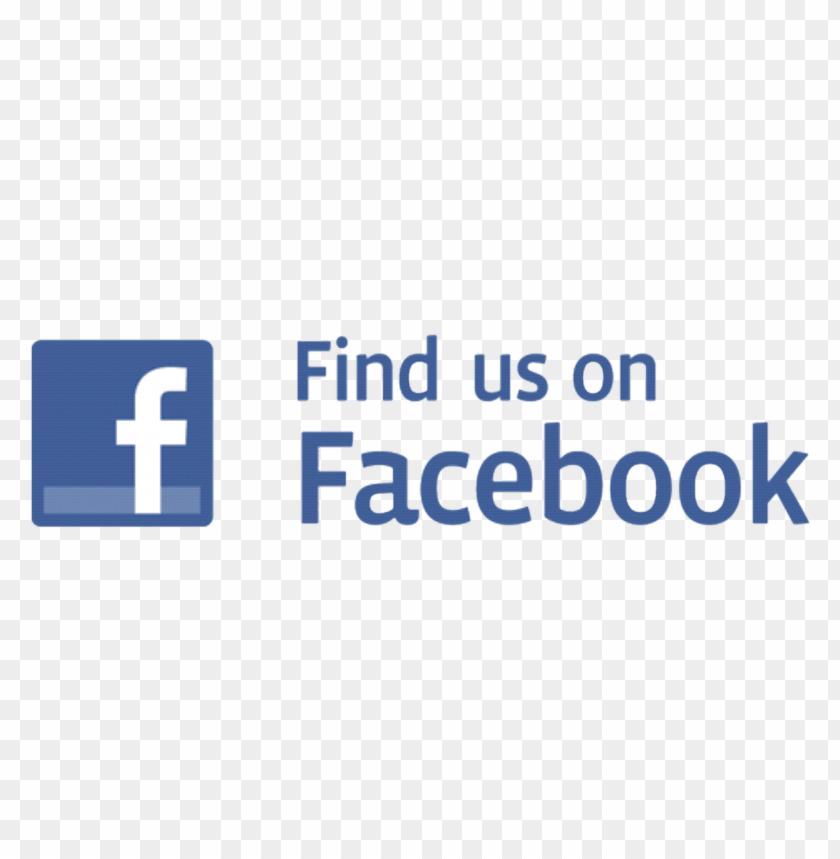free PNG find us on facebook logo 06 png - Free PNG Images PNG images transparent
