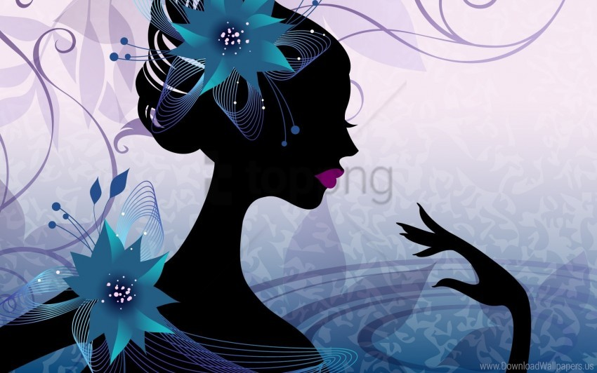 free PNG fingers, flowers, girl, hand, nails wallpaper background best stock photos PNG images transparent