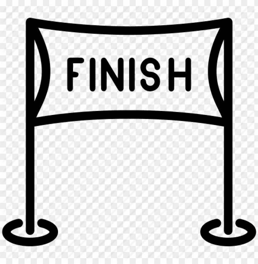 Finish Line Clip Art