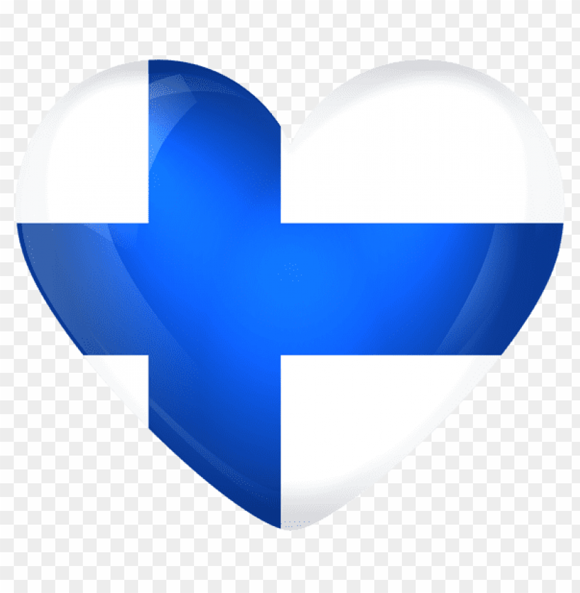 free PNG Download finland large heart flag clipart png photo   PNG images transparent
