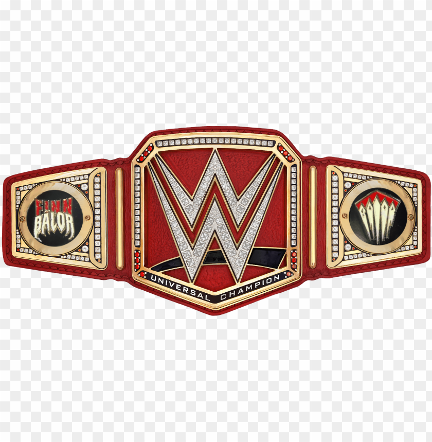 free PNG finn balor wwe universal championship sideplates by - ww wwe universal championshi PNG image with transparent background PNG images transparent