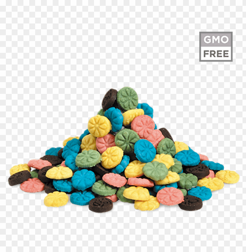 free PNG fior di biscotto arcobaleno - dessert PNG image with transparent background PNG images transparent