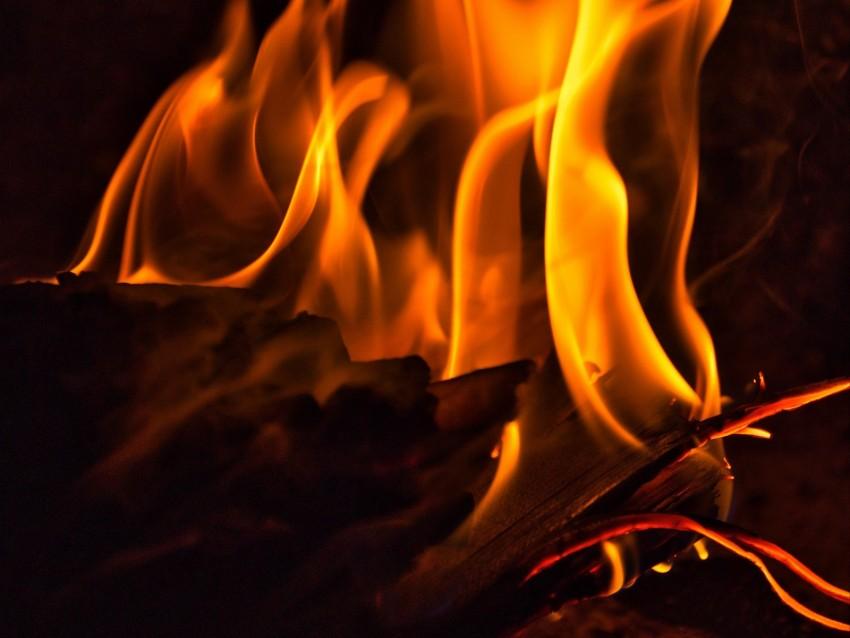 free PNG fire, bonfire, flame, dark, firewood, burning background PNG images transparent