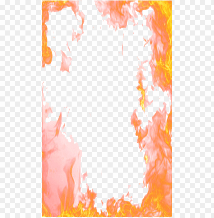 free PNG fire border png - frame of fire PNG image with transparent background PNG images transparent