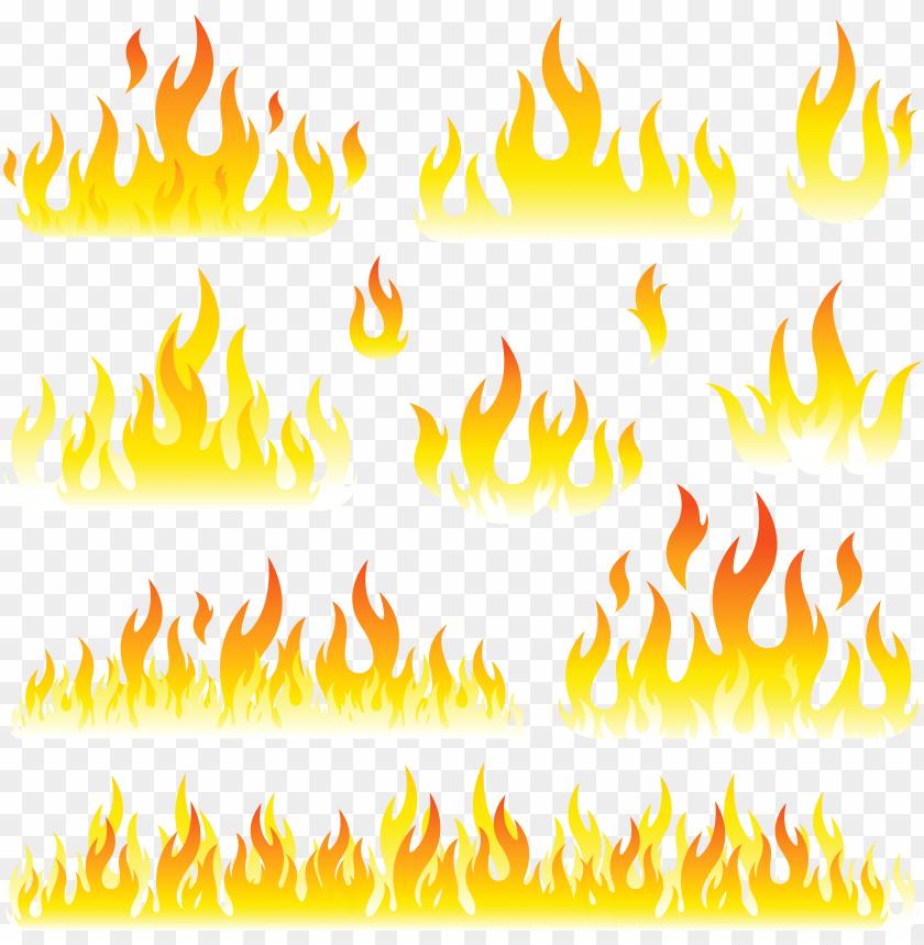 free PNG fire clipart transparent - flames clipart PNG image with transparent background PNG images transparent