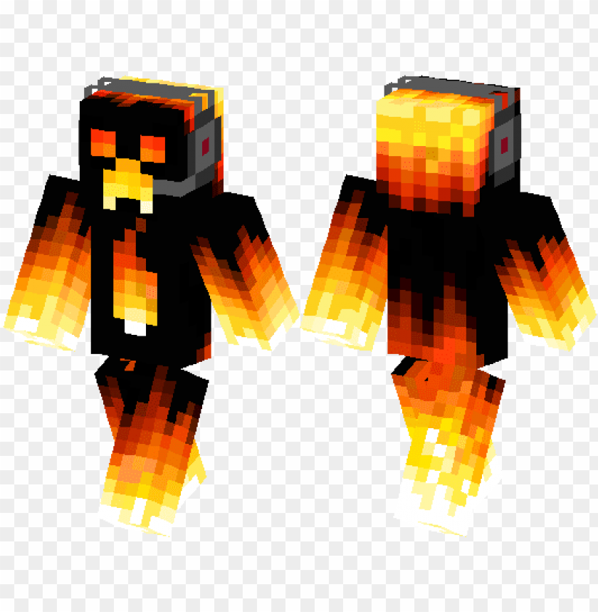 Fire Creeper Fire Creeper Skin Minecraft Png Image With Transparent Background Toppng