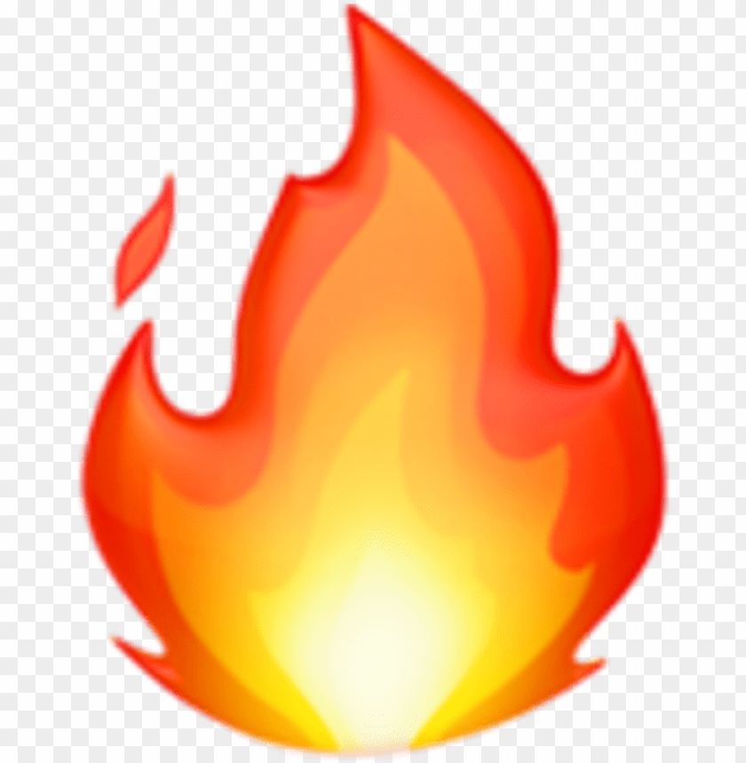 free PNG fire emoji emojis iphone tumblr sticker by adesv - fire emoji ios 11 PNG image with transparent background PNG images transparent