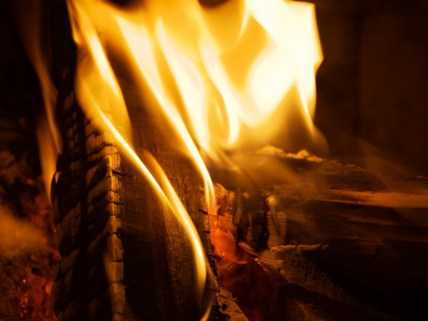free PNG fire, firewood, burn, flame, closeup background PNG images transparent