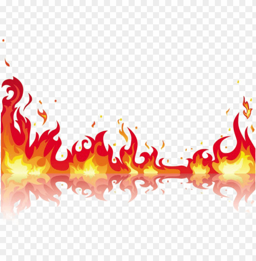 free PNG fire flame png free download - fire flames clipart border PNG image with transparent background PNG images transparent