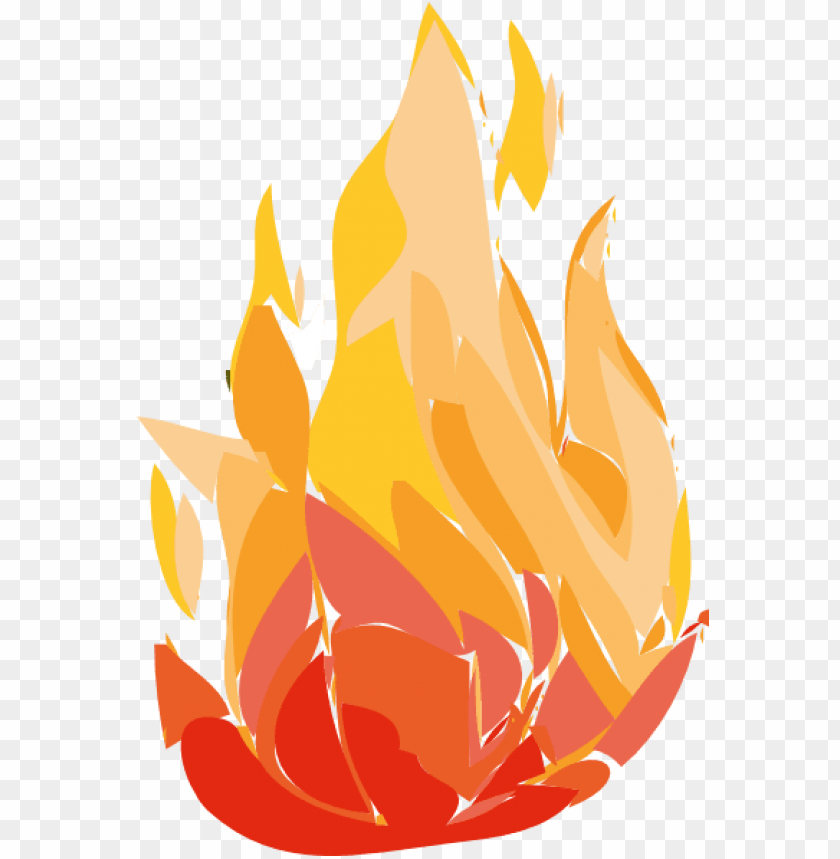 free PNG fire flames clipart gif - cartoon bush on fire PNG image with transparent background PNG images transparent