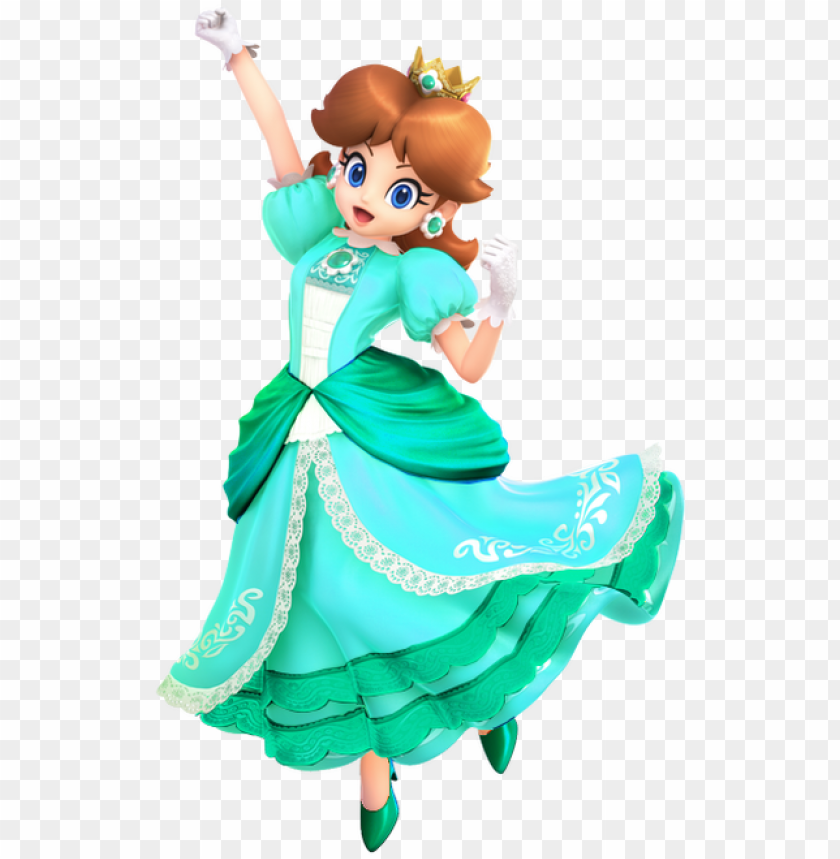 free PNG fire flower daisy - princess daisy from super mario smash bros PNG image with transparent background PNG images transparent