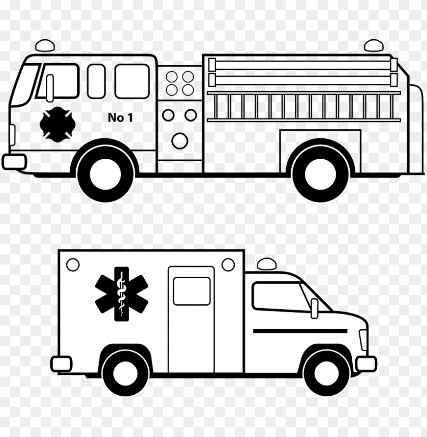 free PNG fire truck vector free ambulance emergency fire free - fire truck vector clipart PNG image with transparent background PNG images transparent