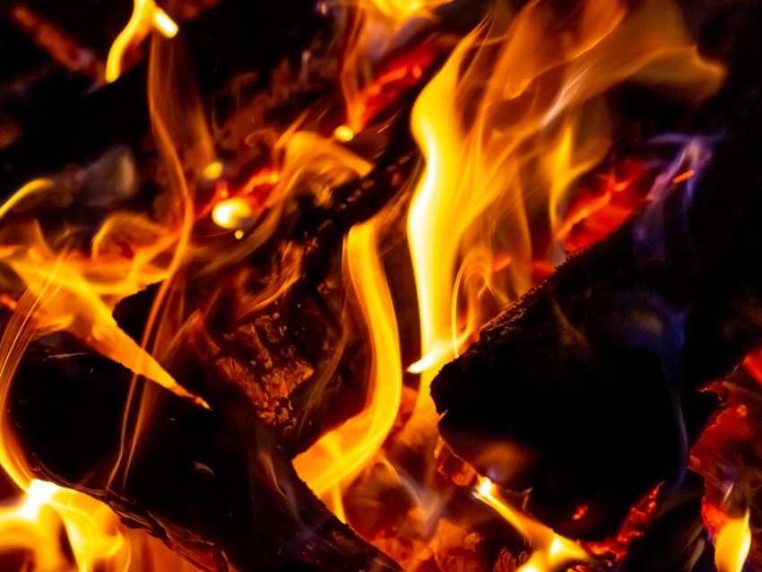 free PNG fire, wood, burn, flame, bright, coal background PNG images transparent