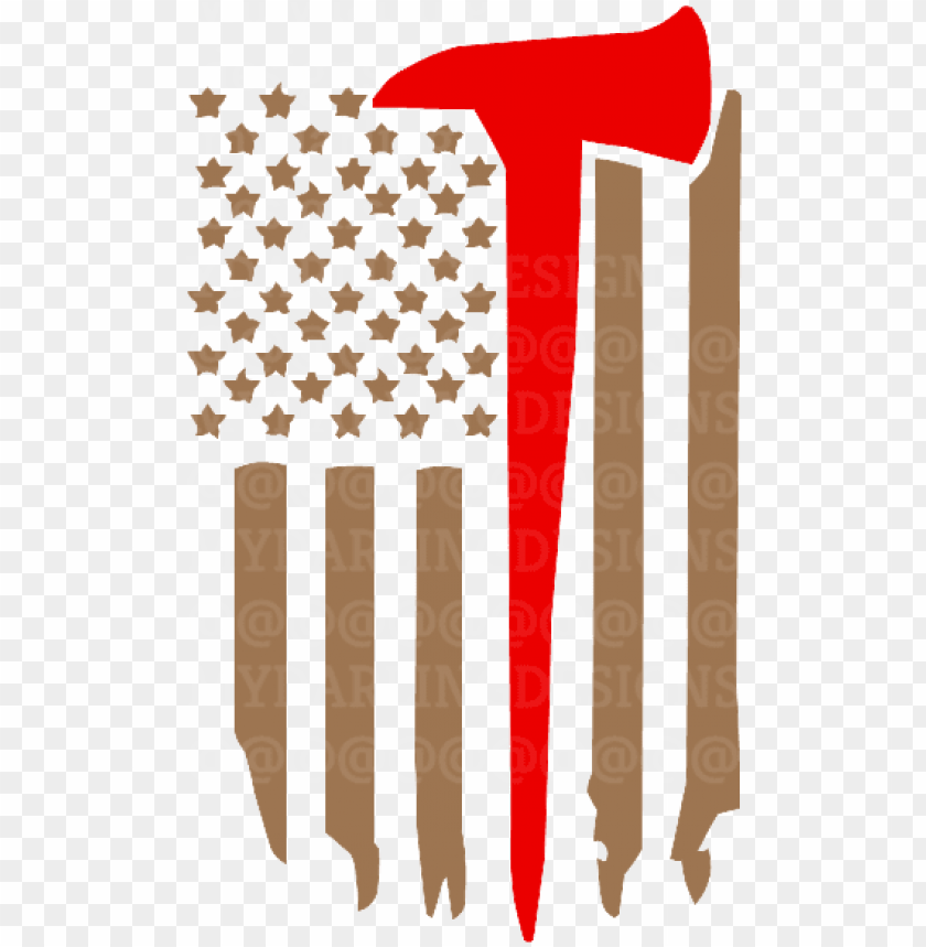 free PNG firefighter axe flag svg - american flag with an axe PNG image with transparent background PNG images transparent