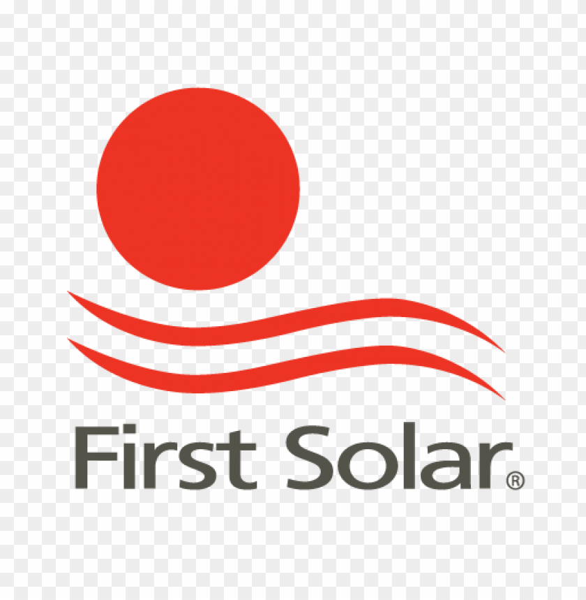 free PNG first solar logo vector PNG images transparent